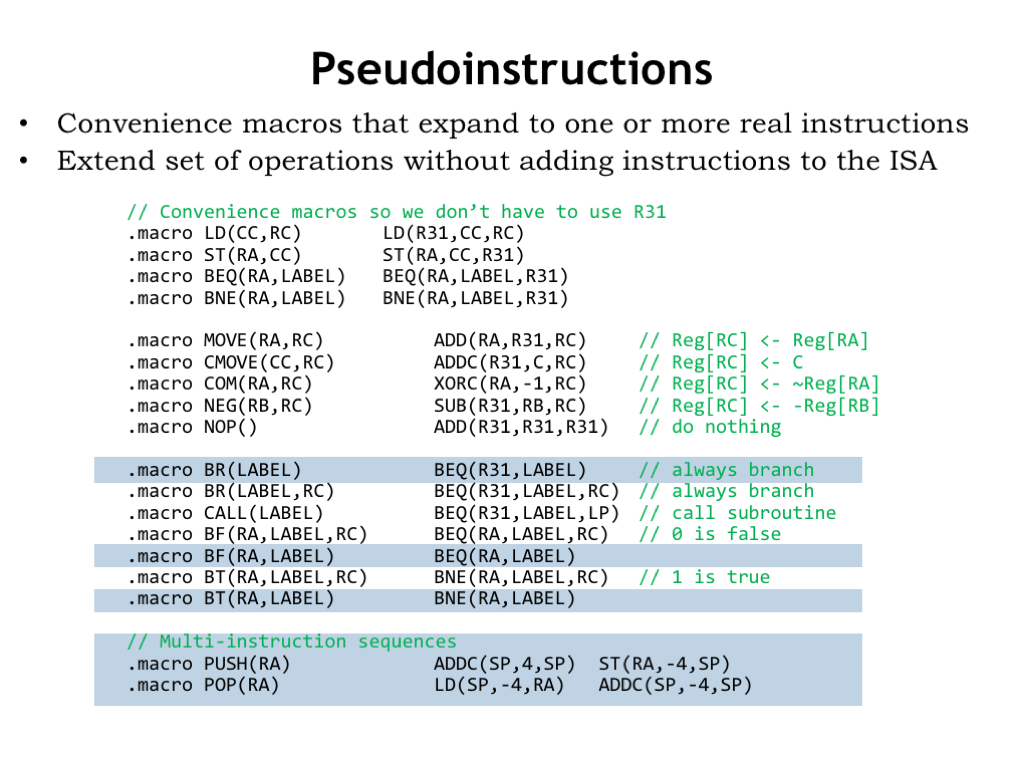 Assembly language. Assembler Commands and Fundamentals 58
