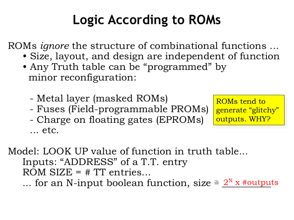 L04 Combinational Logic And Gate In An Output C Is Produced Only If The Two This Combination Of Smaller Decoders Muxes Quite Common These Sorts Memory Circuits