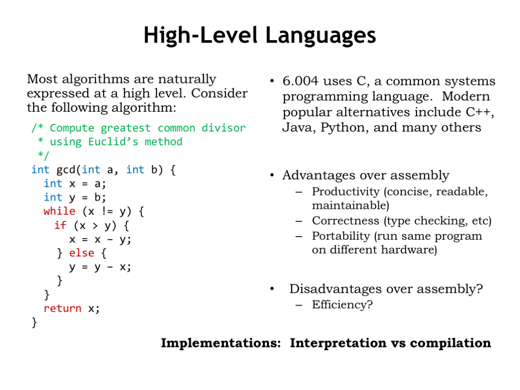 L11: Compilers
