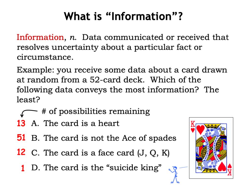 L01 Basics Of Information